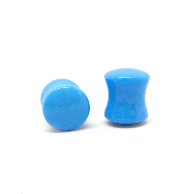 Blue Saddle Plug