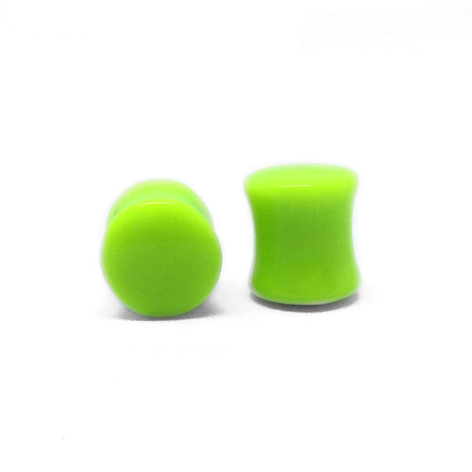 Neon Green Saddle Plug