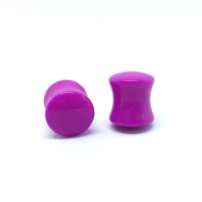 Purple Saddle Plug