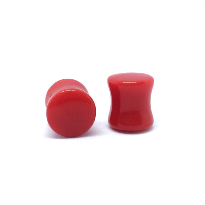 Red Saddle Plug
