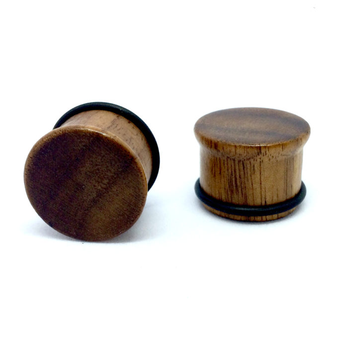 Wooden Single Flare Plugs