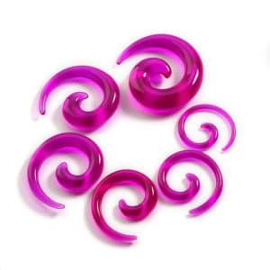 Fuschia Spiral Stretching Kit